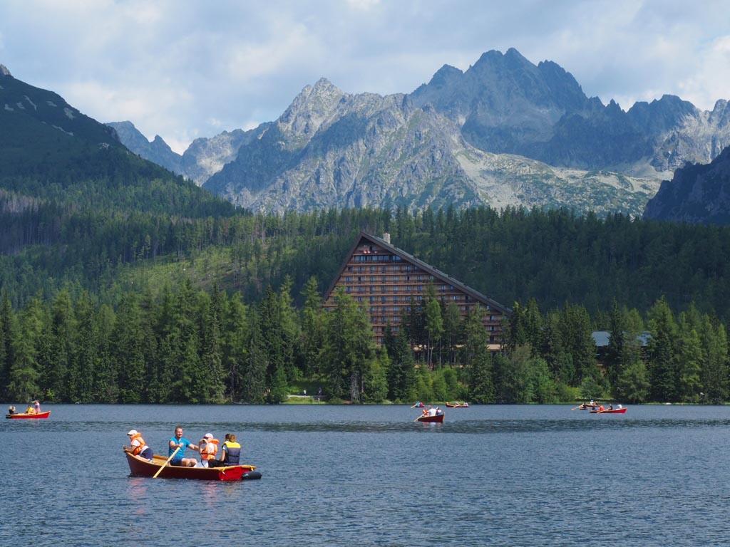 Szlovákia Magas-Tátra Csorba-tó