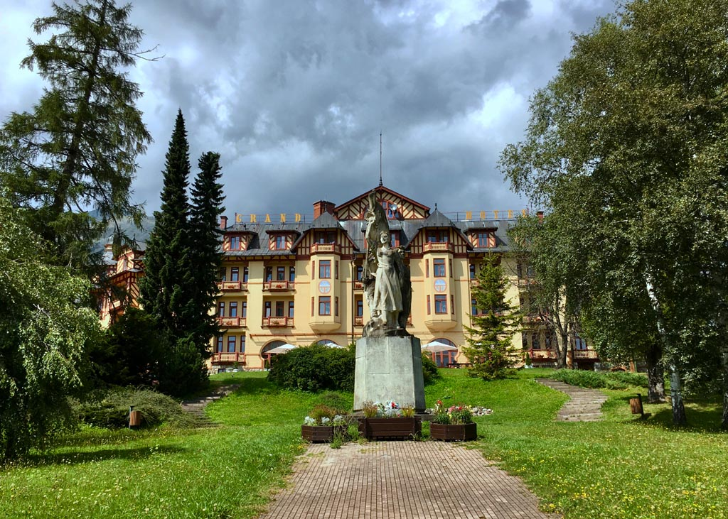 Szlovákia Ótátrafüred Grand Hotel