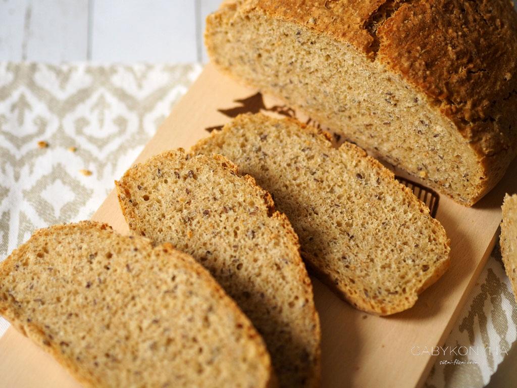 Alakor ősbúzaliszttel készült magos kenyér