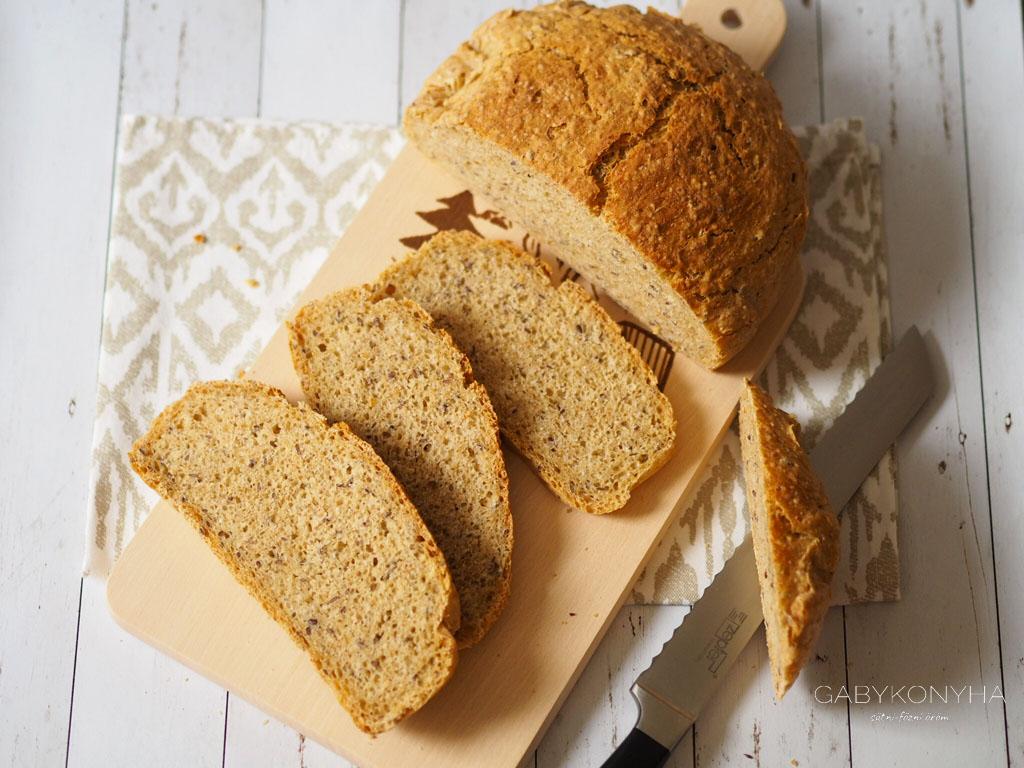 Alakor ősbúzaliszt magos kenyér