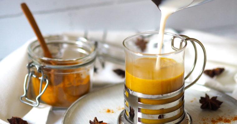 Kurkumás latte