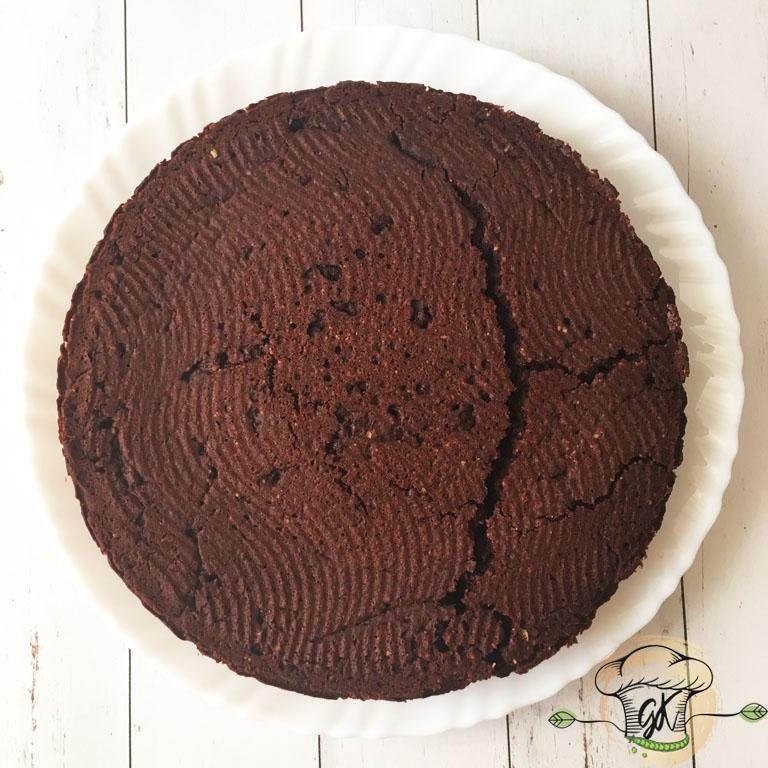 Gluténmentes vegán csokitorta