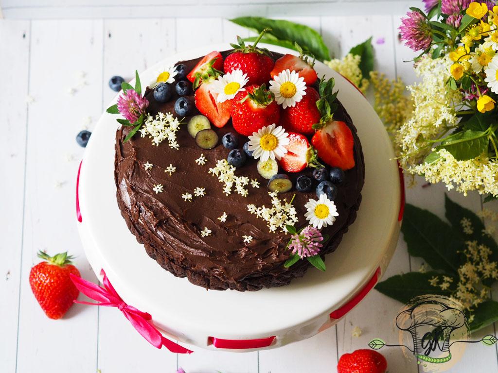 Csokitorta -gluténmentes és vegán