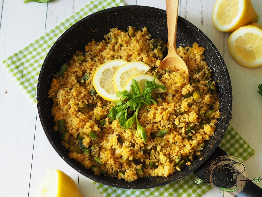 Spárgás-répás quinoa