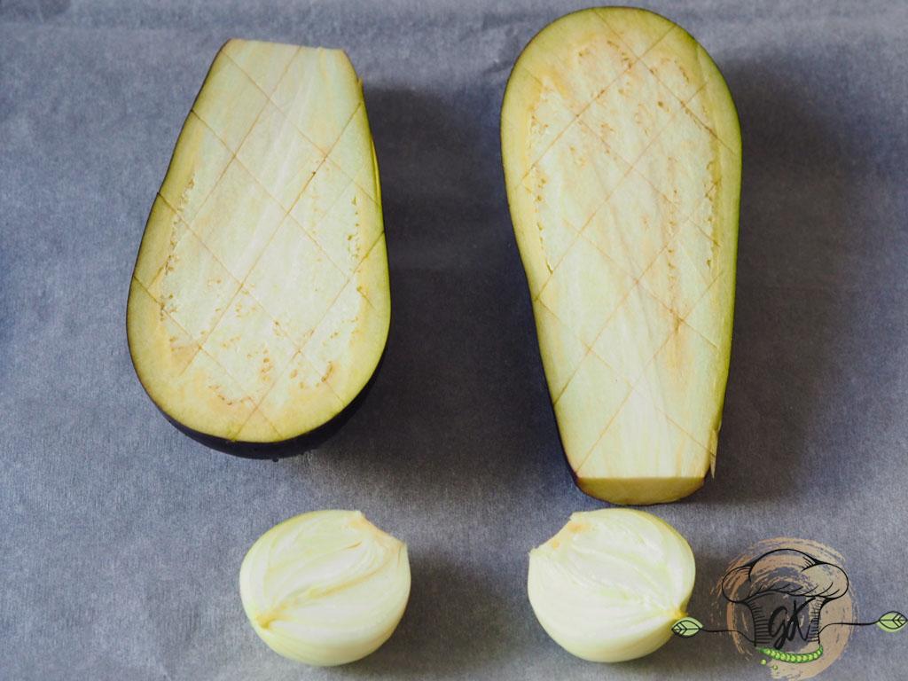 Gluténmentes vegán növényi alapú aszalt paradicsomos padlizsánkrém