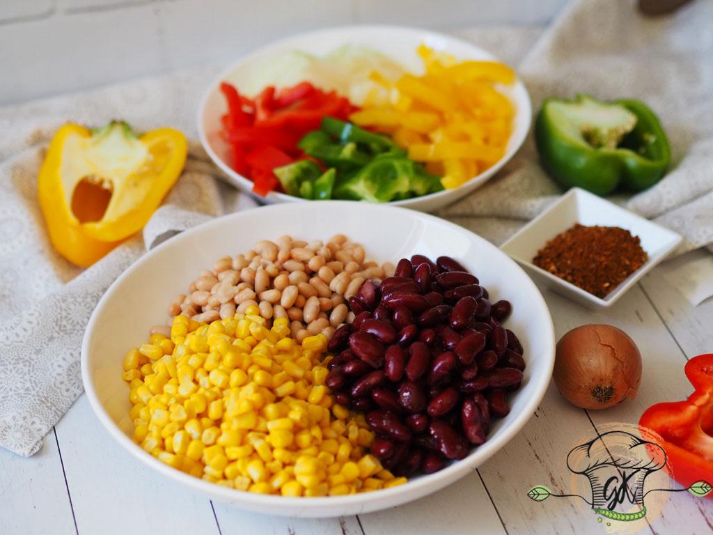 Gluténmentes vegán mexikói ragu