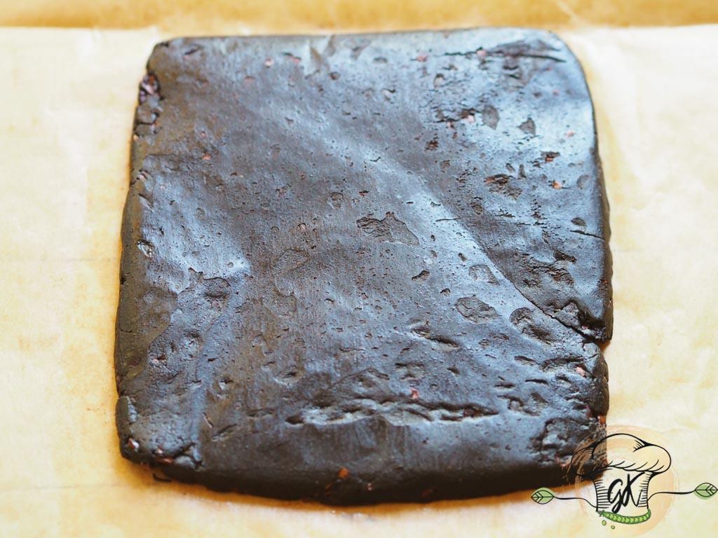 Gluténmentes vegán ropogós mogyorsó kakaószelet