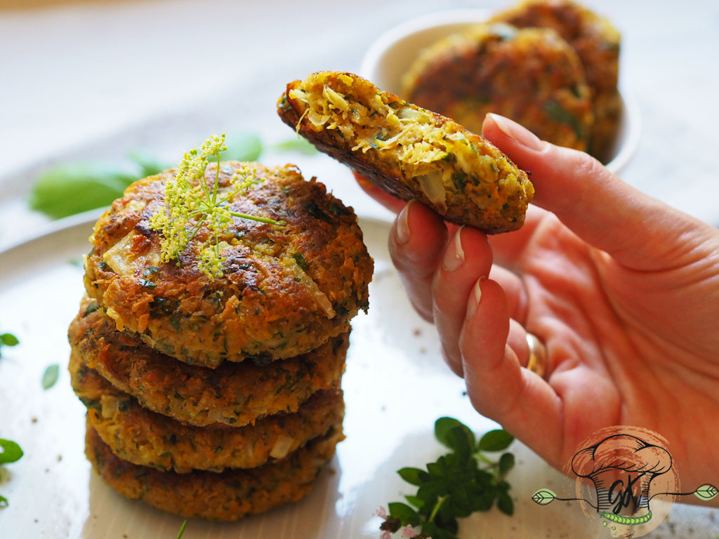 Gluténmentes vegán csicseriborsós zöldséges fasírtok