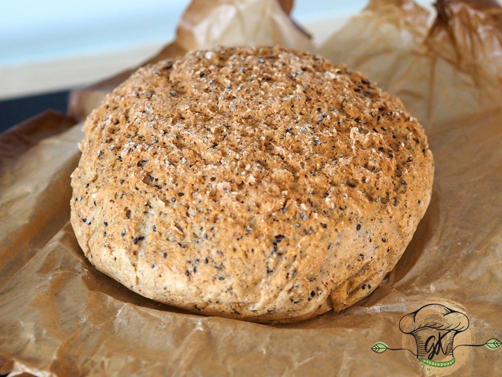Gluténmentes magvas kenyér
